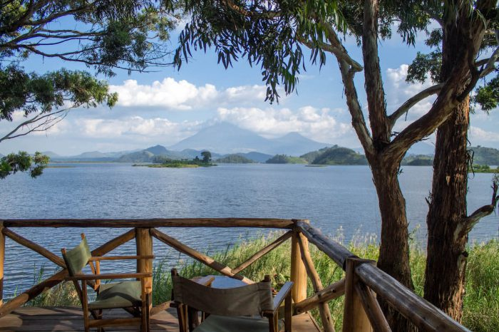 Views for days at Mutanda Lake Resort