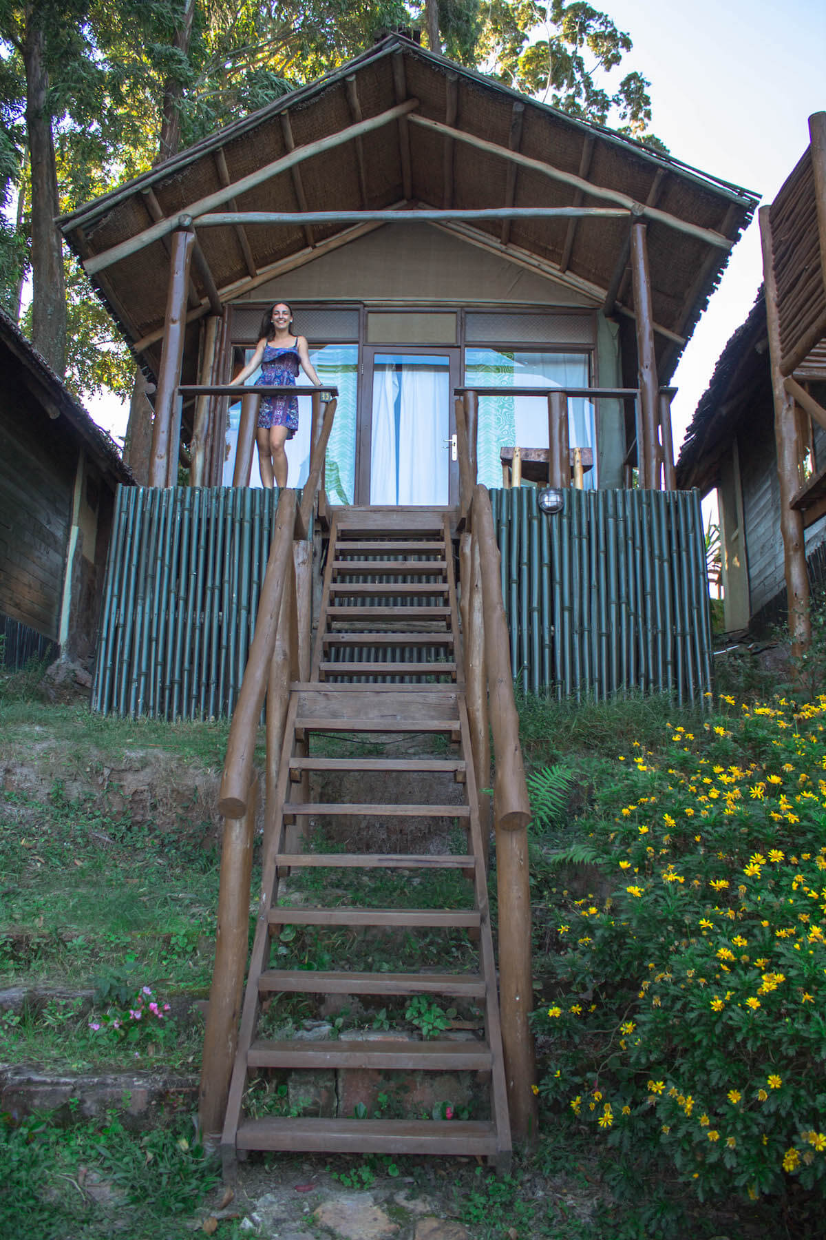 Cabins at Mutanda Lake Resort