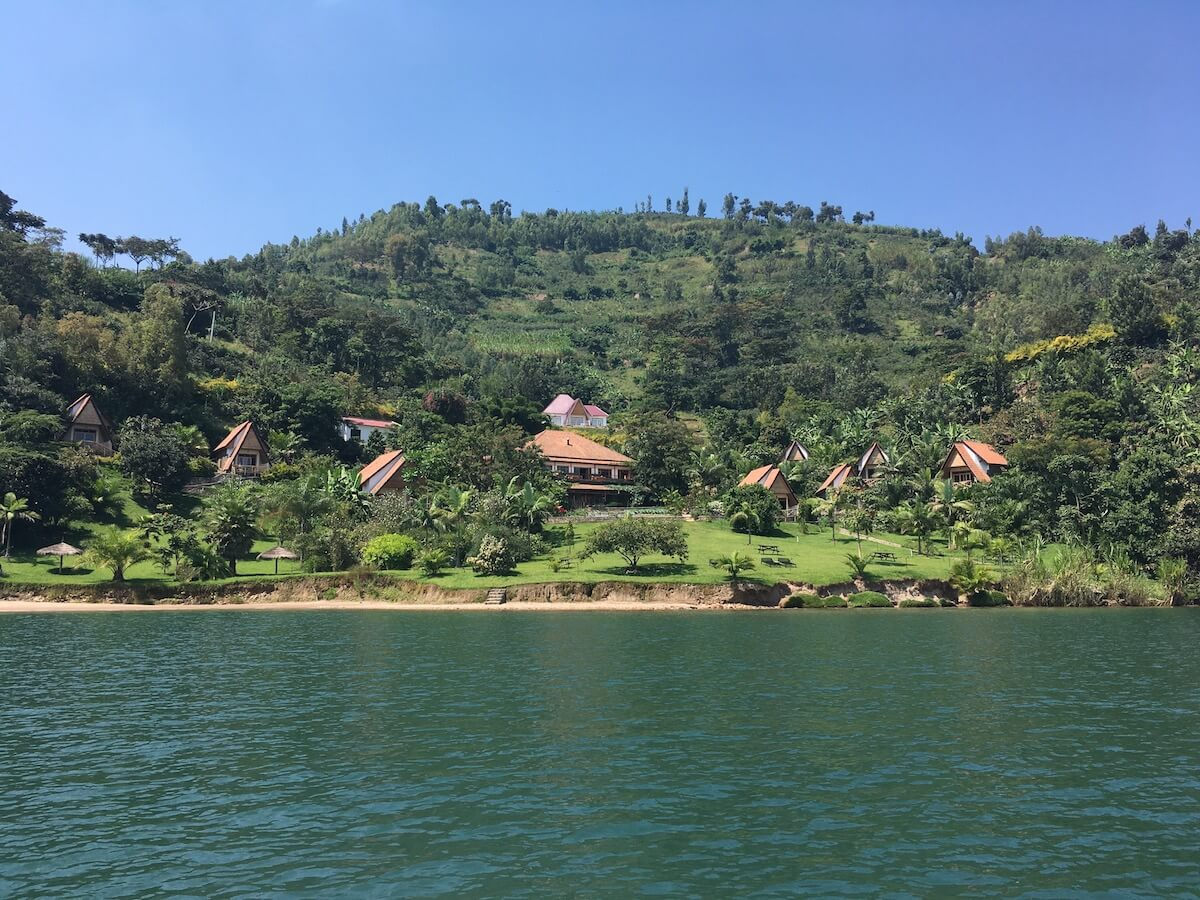Checking in to beautiful Paradise Kivu Resort, Rwanda