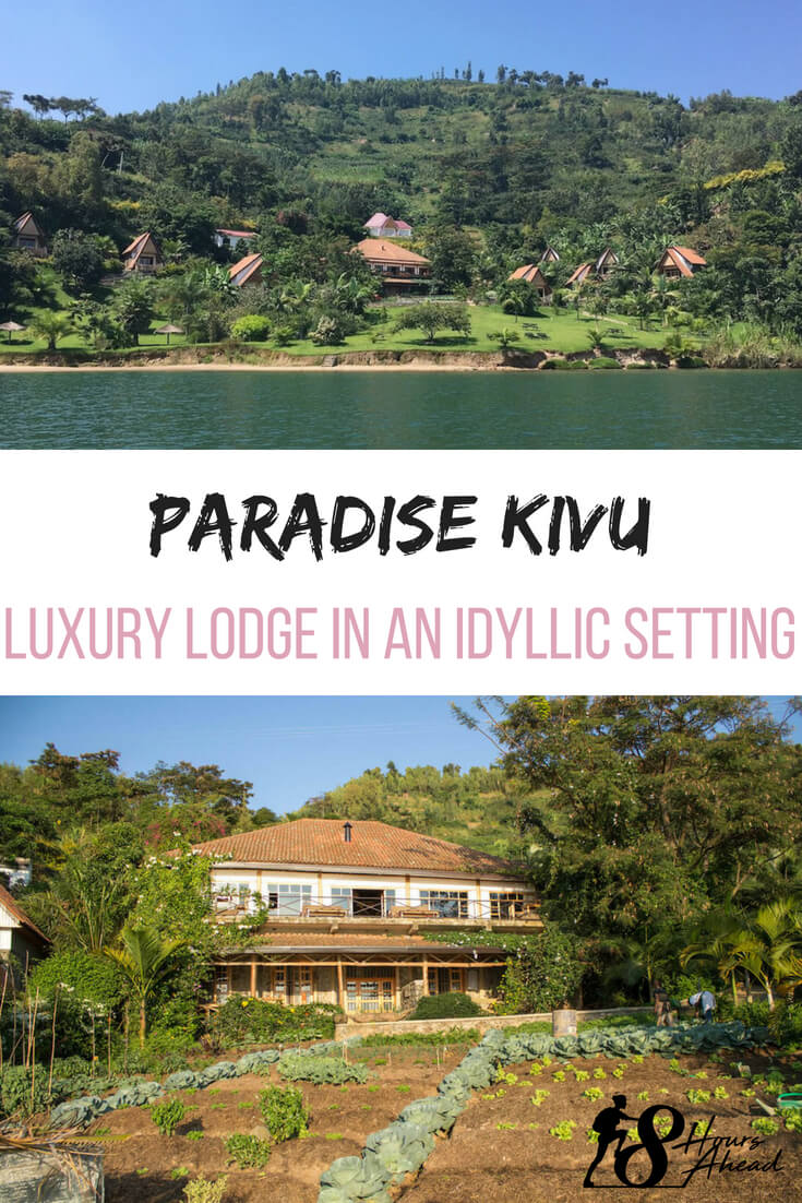 Paradise Kivu luxury lodge in an idilic setting