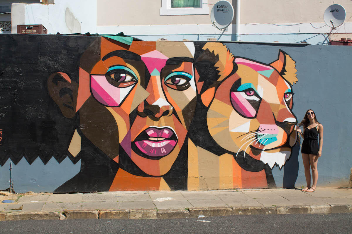 10+ incredible things to do in Cape Town: Woodstock graffiti