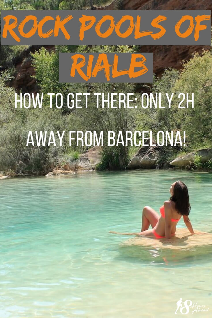 Rock pools of Rialb: how to get there
