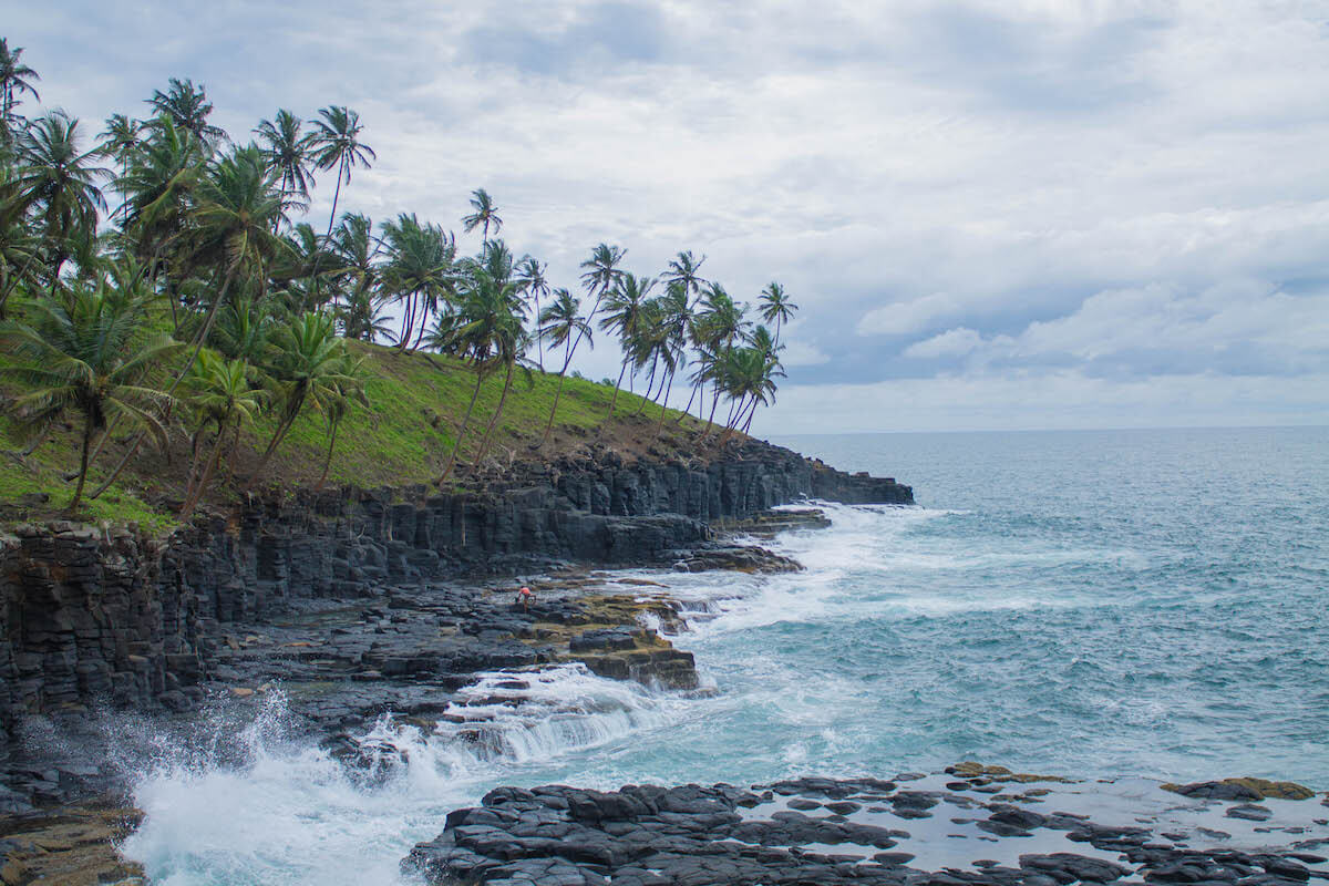 São Tomé Southern day tour: blowhole