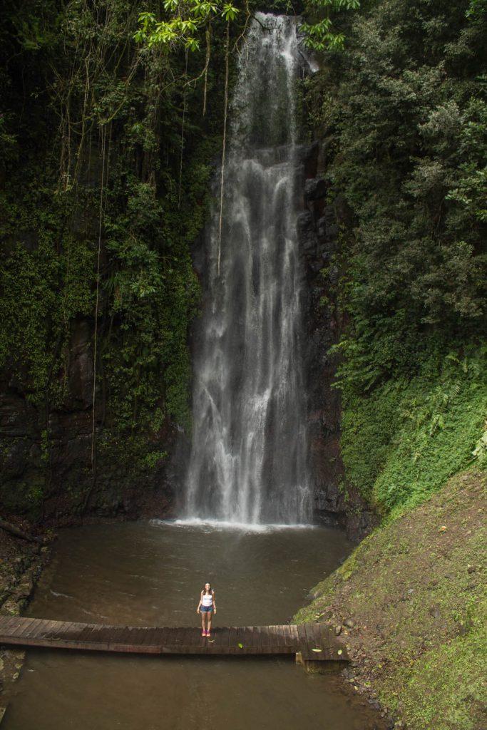 Sao Nicolau waterfall in São Tomé