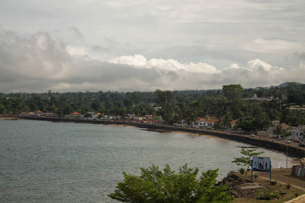 Views of the city of São Tomé