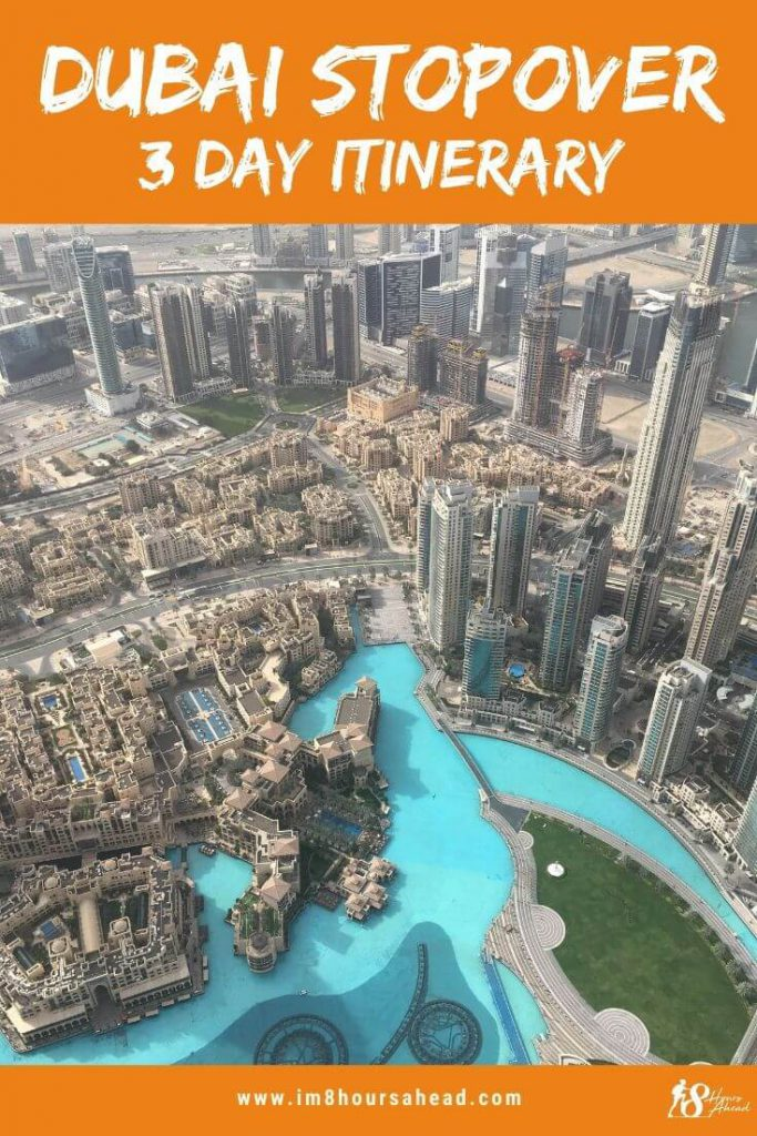 Dubai stopover 3 day itinerary