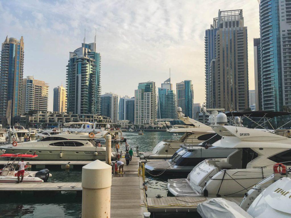 Stopover in Dubai 3 day itinerary: Dubai Marina