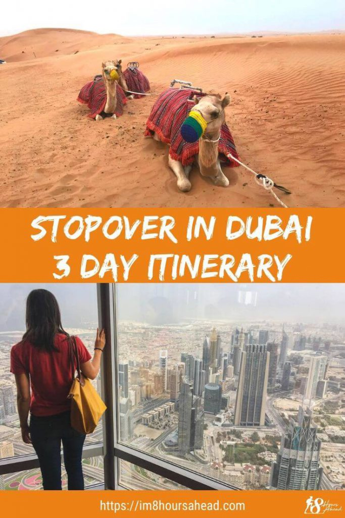 Stopover in Dubai 3 day itinerary