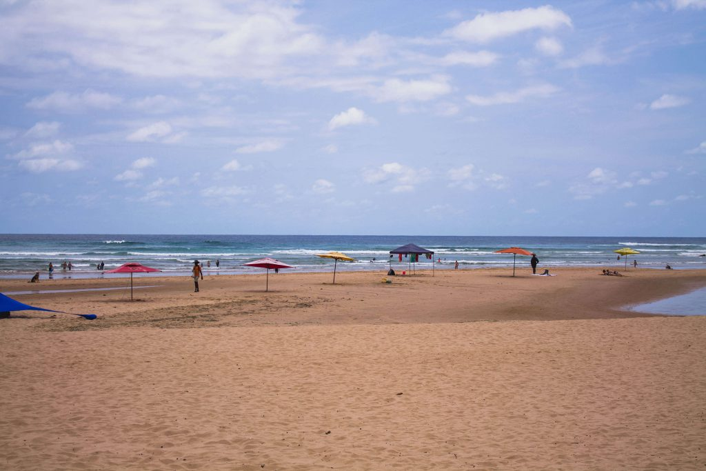 Tofo Main Beach, Mozambique