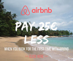 Pay 25€ less airbnb code for first timers