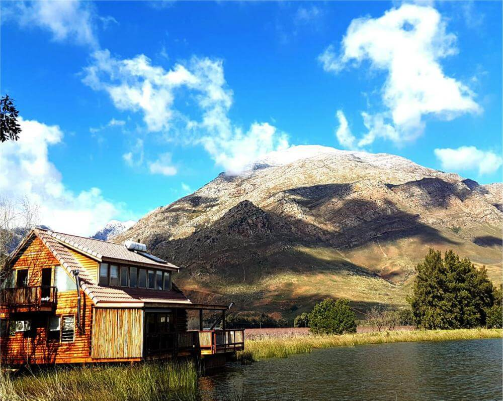 Most unique accommodations in the Western Cape - Arum Lily Log Cabins