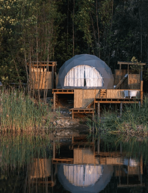 Most unique accommodations in the Western Cape - La Bruyere Farm