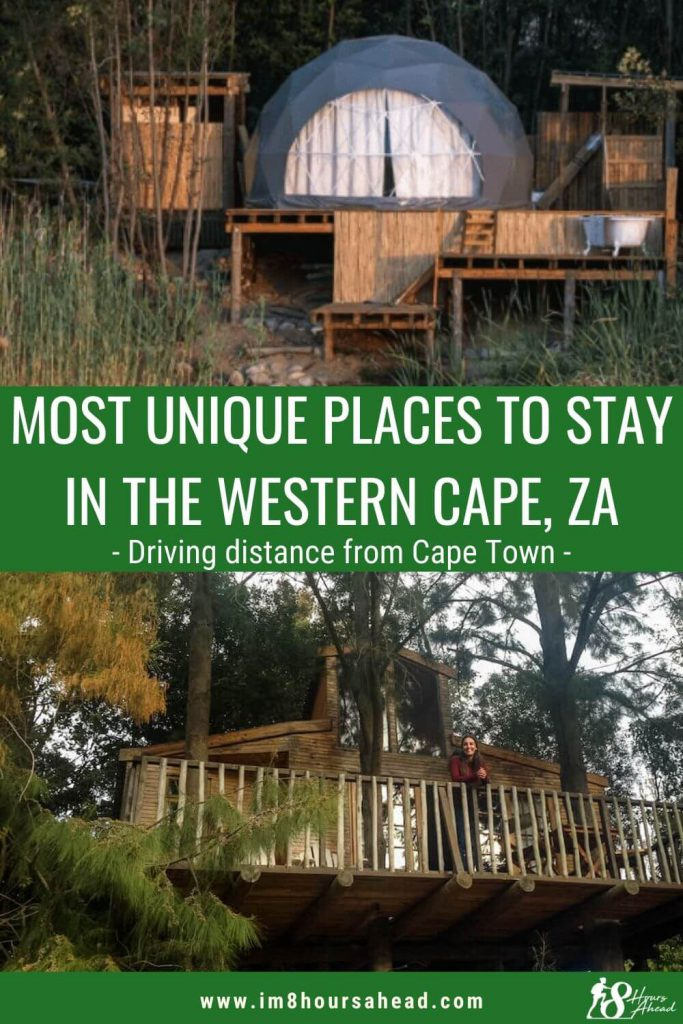 Most unique accommodations in the Western Cape, South Africa