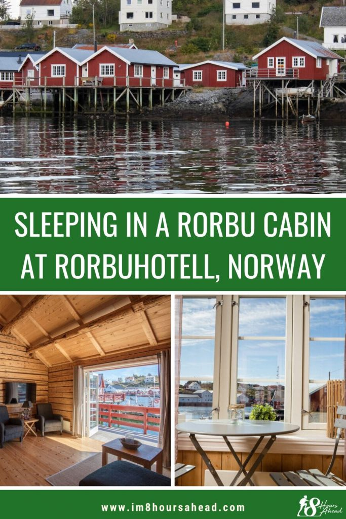 Sleeping in Rorbuhotell, Lofoten islands