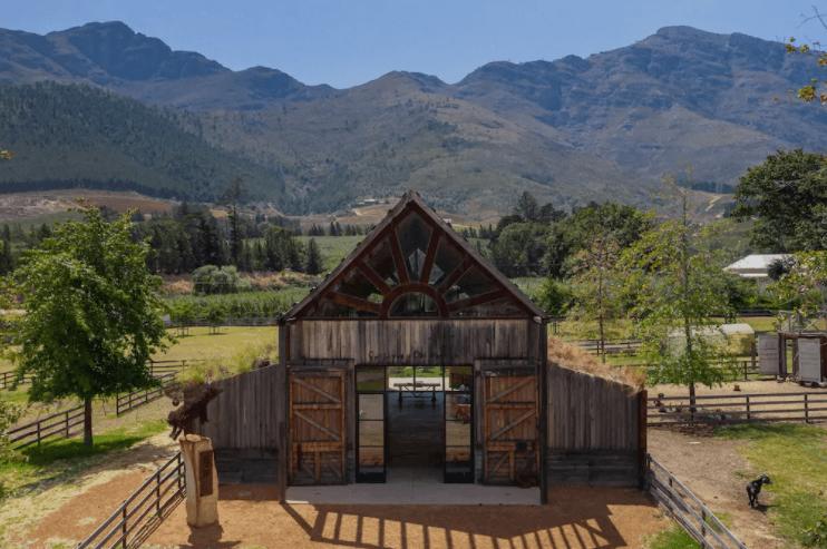 Coolest Airbnbs near Cape Town -  farm sanctuary