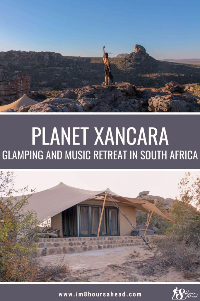 Glamping and dancing at Planet Xancara