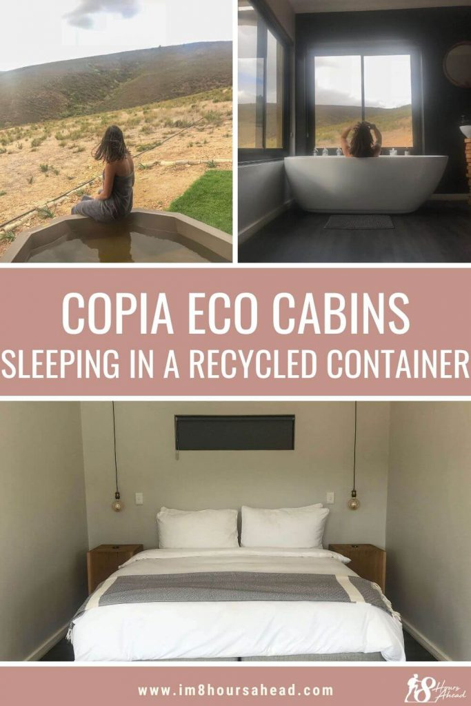 Copia Eco Cabin sleeping in a recycled container