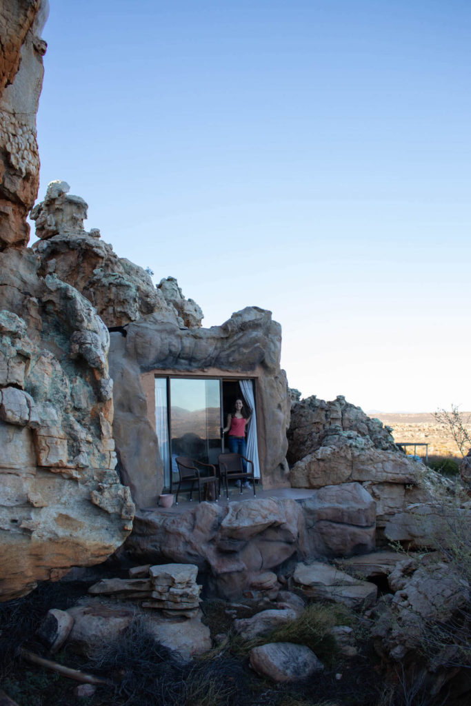 Cave rooms at Kagga Kamma lodge