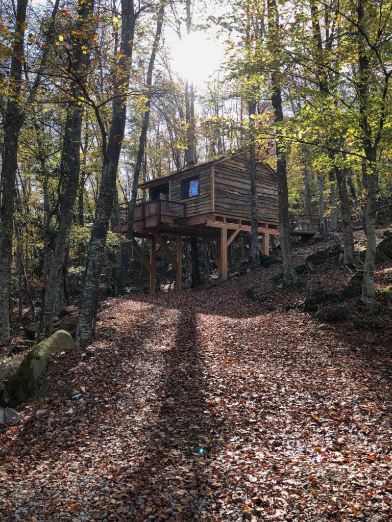 Cabanyes entre Valls tree house