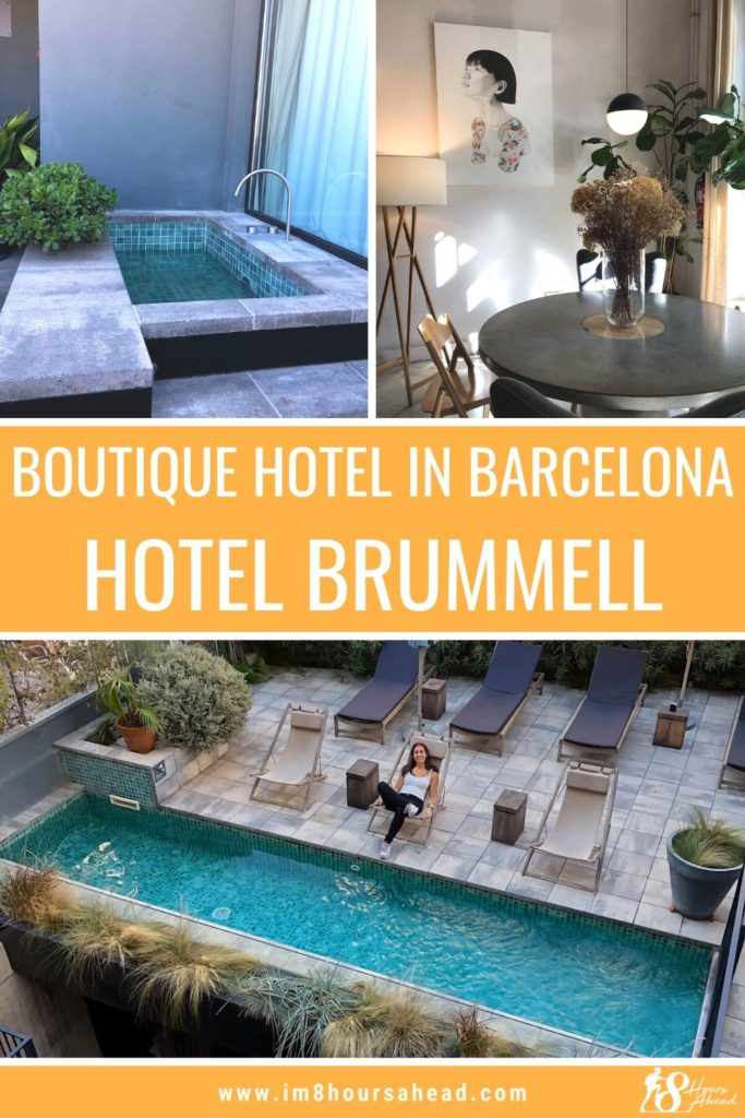 Checking in at Hotel Brummell, a unique boutique hotel in Barcelona