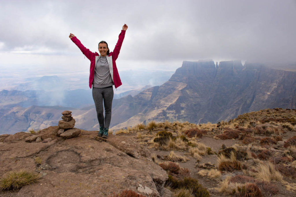 Hiking to Tugela Falls in Drakensberg