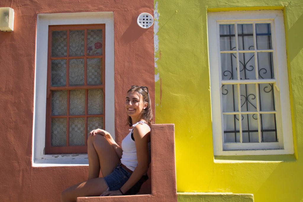 Colorful houses of Bo-Kaap