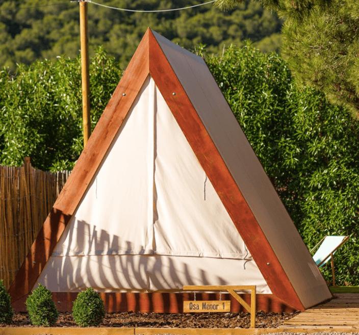 A-Frame at Camping el Garrofer