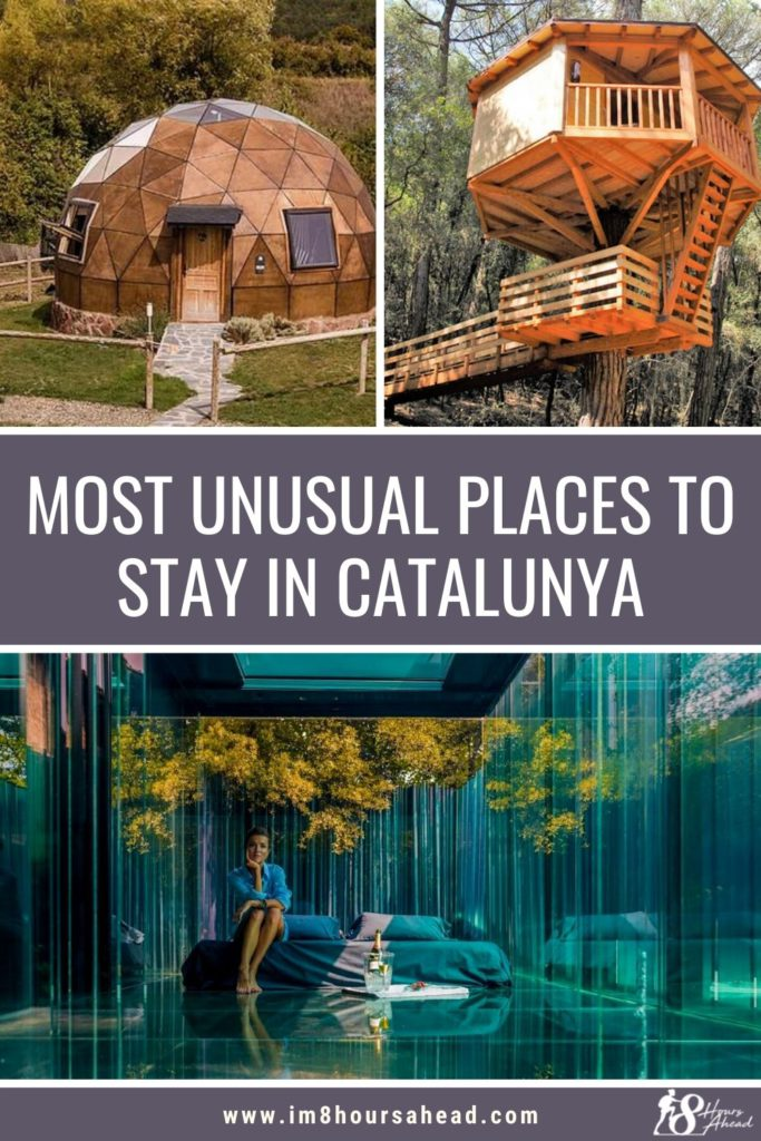 Most unusual places to stay in Catalunya