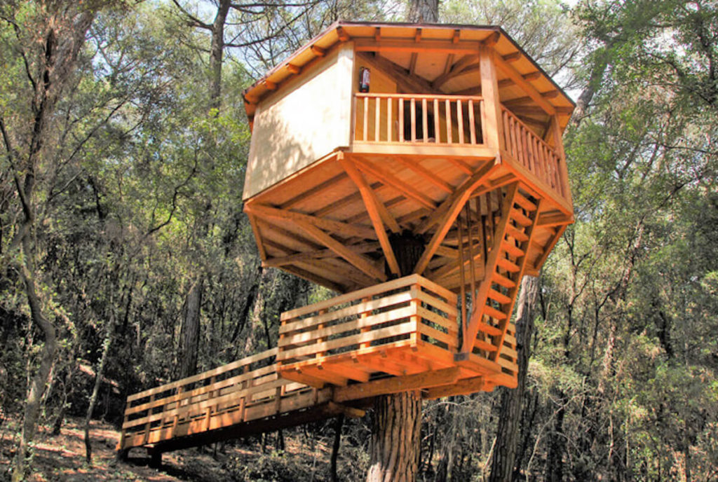 Cabanes dos Rius treehouse